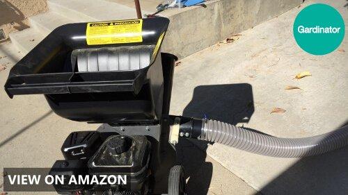 Patriot Products CSV-3065B Gas Powered Wood Chipper/Leaf Shredder