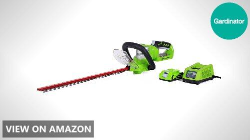 Greenworks 22232 22-Inch 24V Cordless Hedge Trimmer