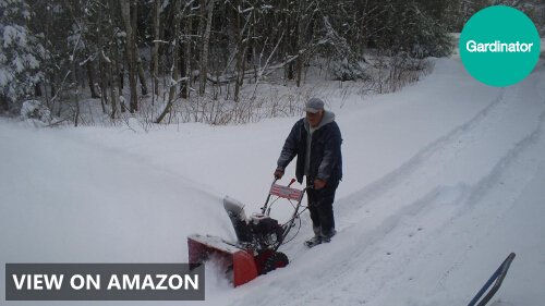 Power Smart DB7651 24 inch 208cc LCT Two-Stage Snow Thrower