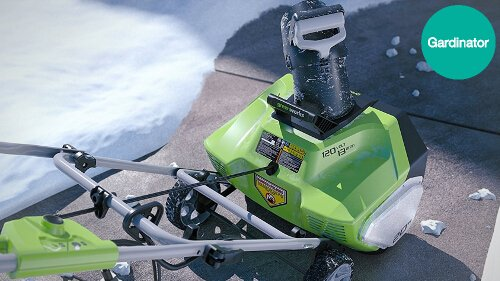 Can I use a snow blower on a gravel driveway?