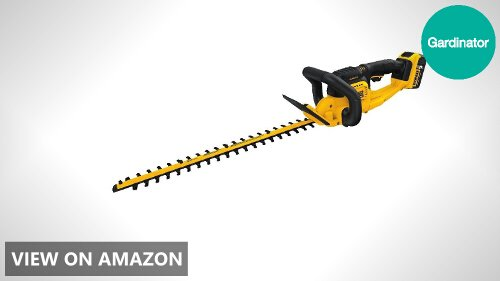 DEWALT DCHT820P1 vs BLACK+DECKER LHT321FF Cordless Hedge Trimmer Comparison