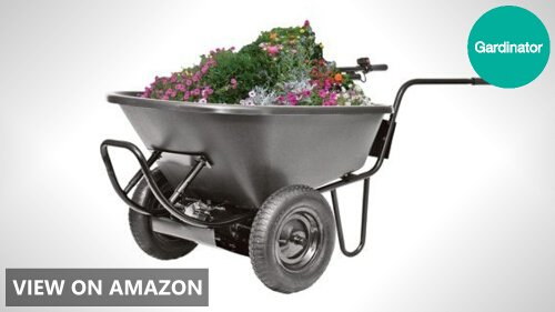 Decko 24 Volt Power Assist Wheelbarrow