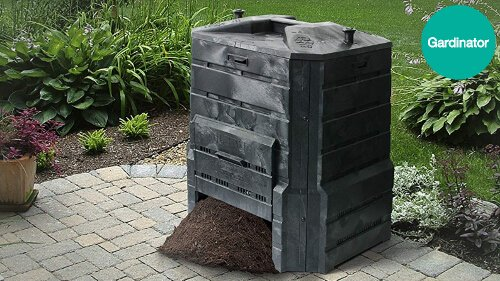 What is a compost bin and what is it used for?