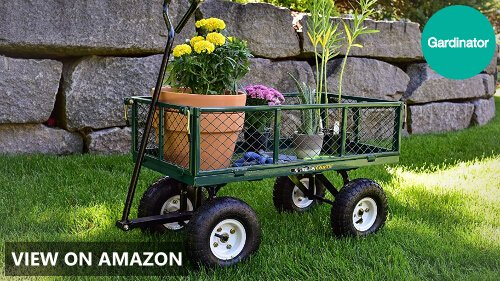 Best Garden Utility Cart 2018: Buying Guide and Top 5
