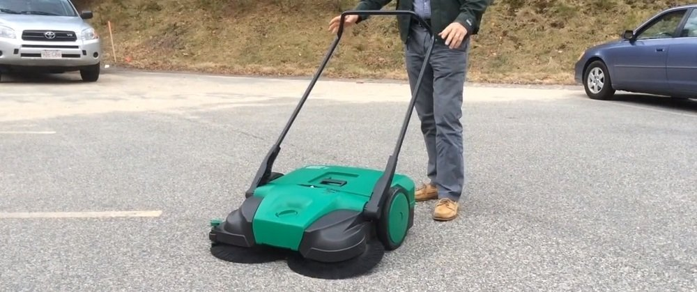 Power Brush Sweepers for Snow