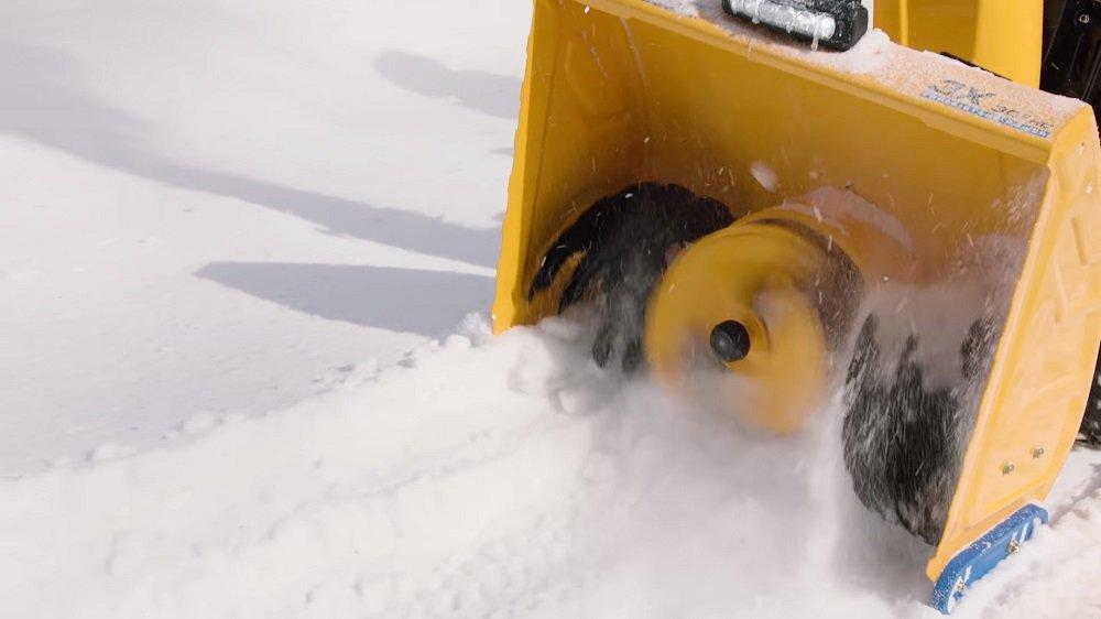 2 stage snow blower
