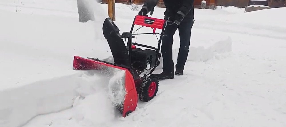 Snow Blower With Gas