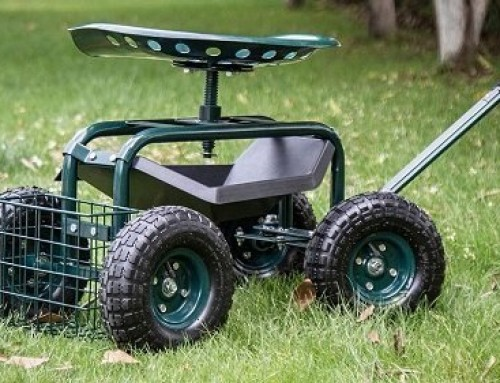 Best Garden Cart with Seat: Buyer's Guide