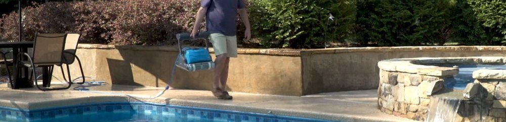 Best Robotic Pool Cleaner for Large Debris