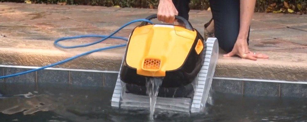What is the best robotic pool cleaner for above ground pools?