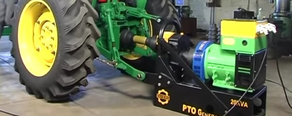 pto generator for subcompact tractor