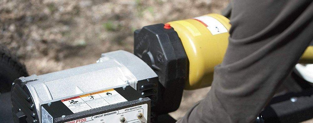 30kw pto generator