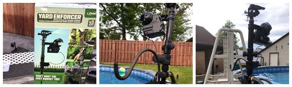 Orbit 62120 Garden Enforcer Motion Activated Sprinkler